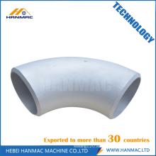 Accesorios de codo de tubo de aluminio de 90 grados