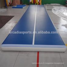 Tapis de gymnastique gonflables de gymnase de plancher de ressort de gymnastique de prix d'usine à vendre