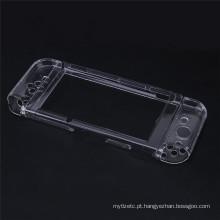 Capa transparente protetora Shell Hard Crystal Case para a capa de console Nintend NS NX Switch