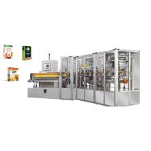 Máquina automática de embalagem vertical para pó e grânulos