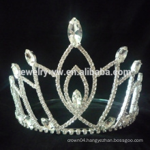 New product and the unique shape pageant crystal crowns and tiaras