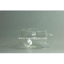 Logotipo personalizado en el té de cristal