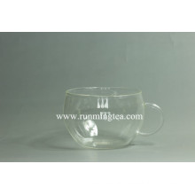 Customized Logo on the glass teaware