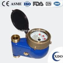 Medidor de agua de cuerpo de hierro de fundición de multi jet