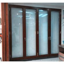 Sistema de puerta plegable de acordeón con buena calidad y precio competitivo en el mercado estadounidense