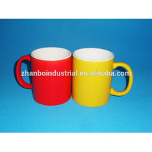 11 oz Colorfull ceramic mugs with any customer design