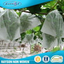 Sac de protection non-tissé de tissu de tissu de MOQ bas / sac de protection de banane