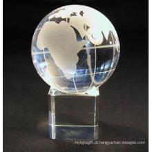 Bola de cristal com base para presentes e artesanato de natal (JD-SJQ-033)