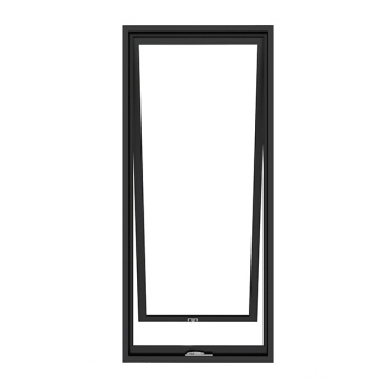 Ventana abatible colgante superior de aluminio de marco estrecho