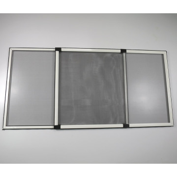 Aluminum profile sliding window with mosquito screen