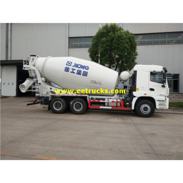 XCMG 10 Wheel 5cbm Concrete Mixer Trucks