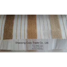 New Popular Project Stripe Organza Voile Sheer Curtain Fabric 0082127