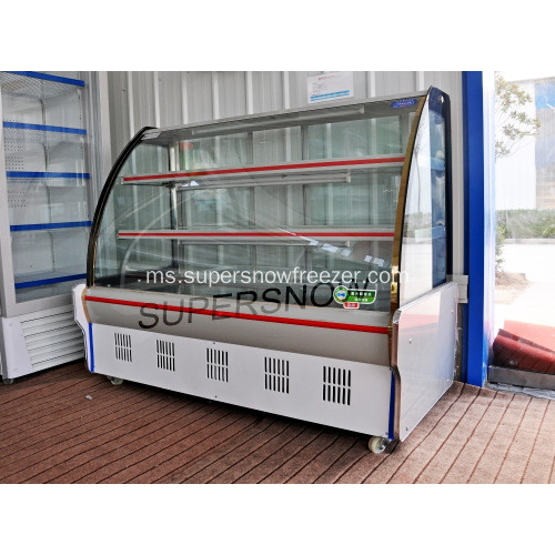 Freezer Showcase Chiller Showcase Portable Cold Plate Vegetable