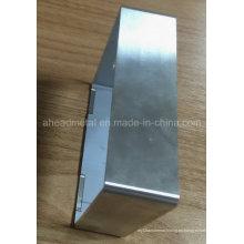 Personalizada precisión mecanizado parte de cáscara de aluminio