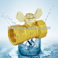 134T Regular Port Brass butterfly Ball Valve, Aluminum Composite Pipeline