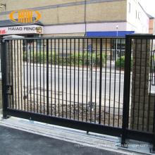 Nigeria style stainless steel sliding main gate design