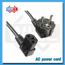 European AC Power Cord for Computer Power Supply