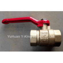 Brass Ball Valve with Steel Handle (YD-1026-1)