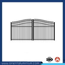 Portão de quintal de alumínio