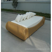 Aluminium Garden And Furniture Sun Bed Fabric Chaise Lounge
