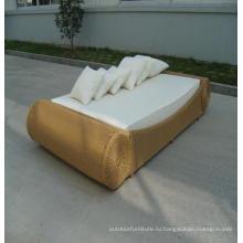 Сад из алюминия и мебель лежак шезлонг ткань