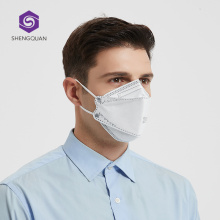 Гражданский защитный респиратор одноразовая маска KN95