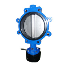 Soft Seat Lug Type Butterfly Valve with Pin