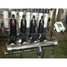 Filtro de disco automático para tratamento de água de irrigação