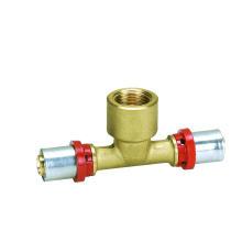 Female Tee (Press Fitting) (Hz8501) plastic (PE-al-PE pex-al-pex) Pipe Fittings