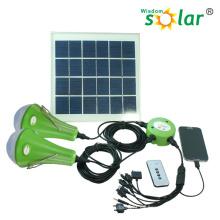 Alta calidad CE 3W Lámpara Solar con cargador de teléfono