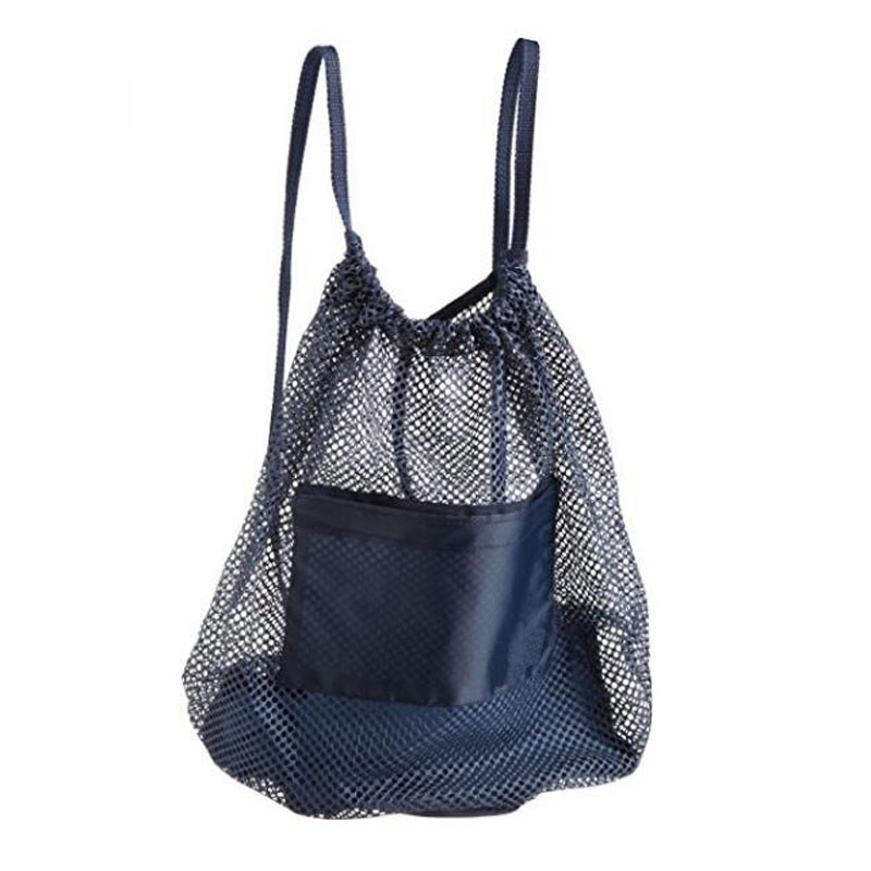 Blue Mesh Backpack