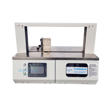 Worth-it banding machine food cake wide product batch packaging machine OPP film paper tape banding machine OEM