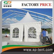 Hochwertige marquee pagode tetn für Veranstaltungen 5x5m Zelt mit Klimaanlage für Hochzeitsfest Dekoration