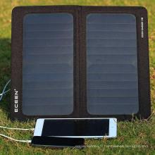 Matériau de silicium monocristallin et 323mm * 355mm Open Size 5v 10w panneau solaire