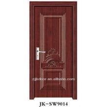 Porte intérieure en acier en bois avec soncap
