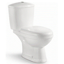 European Style Ceramic White Washdown banheiro banheiro de duas peças (6802)