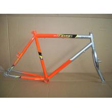 Accesorios para bicicletas Marco de bicicleta de acero y tenedor