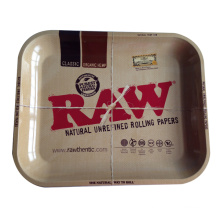 Raw Jumbo Deal Large Metal Cigarette Rolling Tray