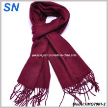 2015 Fringed Woolen Solid Pashmina Scarve