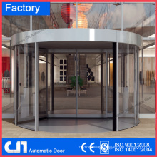 Building 2 Wings Auto Revolving Door Factory Guangzhou