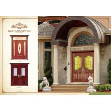 Pole Hot Sale Design Single Steel Wooden Doors