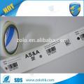 Uso comercial Etiqueta personalizada del código de QR Impresión y garantía de la seguridad Etiqueta nula del papel