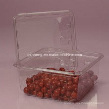 Walmart Boîte en plastique transparente pour l'alimentation (PET 003)