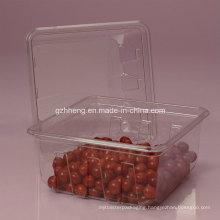 Walmart Custom Clear Plastic Box for Food (PET 003)