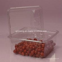 Волмарт изготовленные на заказ ясные пластичные коробки для еды (ПЭТ 003)
