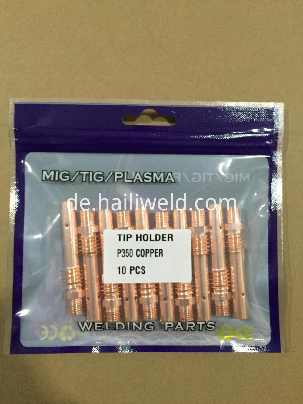 Tip Holder P350 Copper