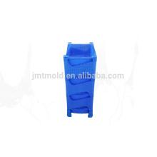 Fabricación hábil personalizada fabricación de doble cajón molde
