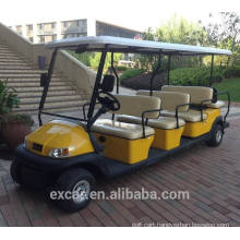 electric sightseeing bus, tourist bus, electric golf car