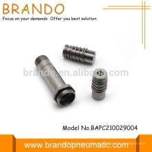 Válvula solenoide de automatización neumática Dc Ac Armature Plunger Tube Assembly