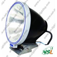 Lámpara de luz de trabajo HID de 9 pulgadas y 55 W, haz de luz de inundación / puntual 4X4 Xenón HID azul claro y plateado (NSL-4500)